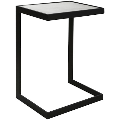 Uttermost Accent Furniture Windell Cantilever Side Table