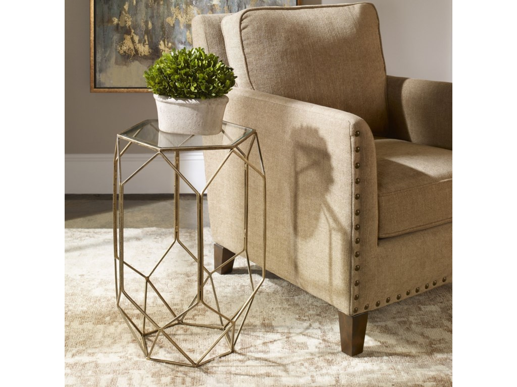 Uttermost Accent Furniture - Occasional TablesSanders Contemporary Accent Table