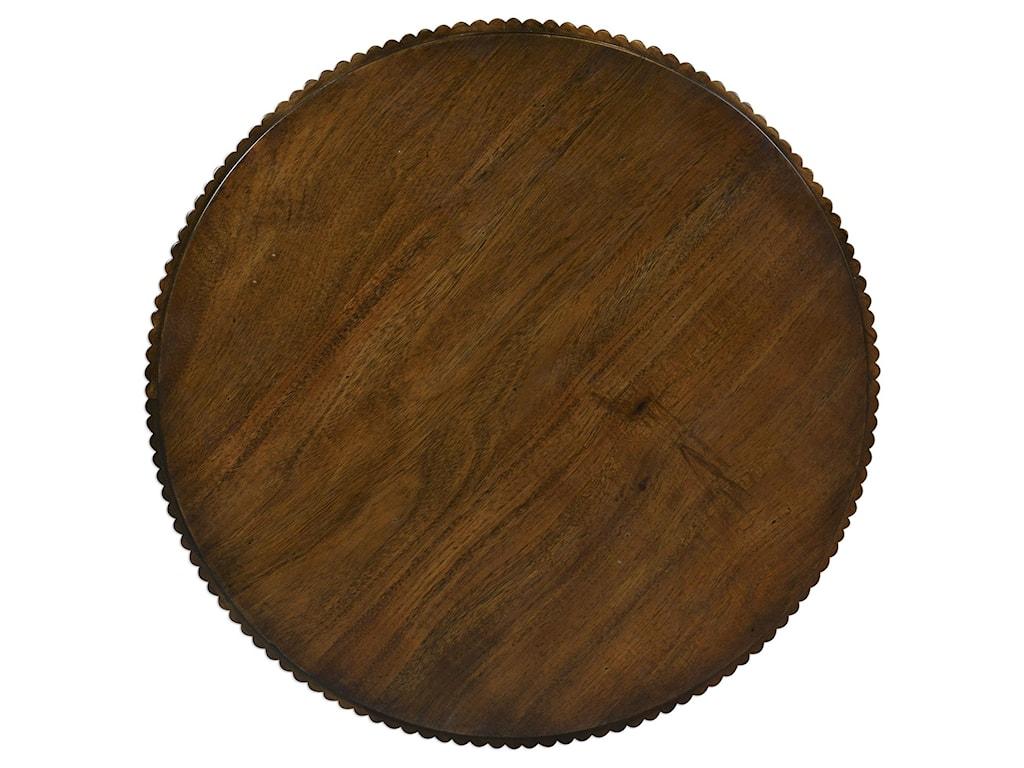 Uttermost Accent FurnitureGrae Walnut Accent Table
