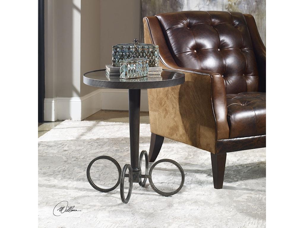 Uttermost Accent FurnitureJalen Industrial Accent Table