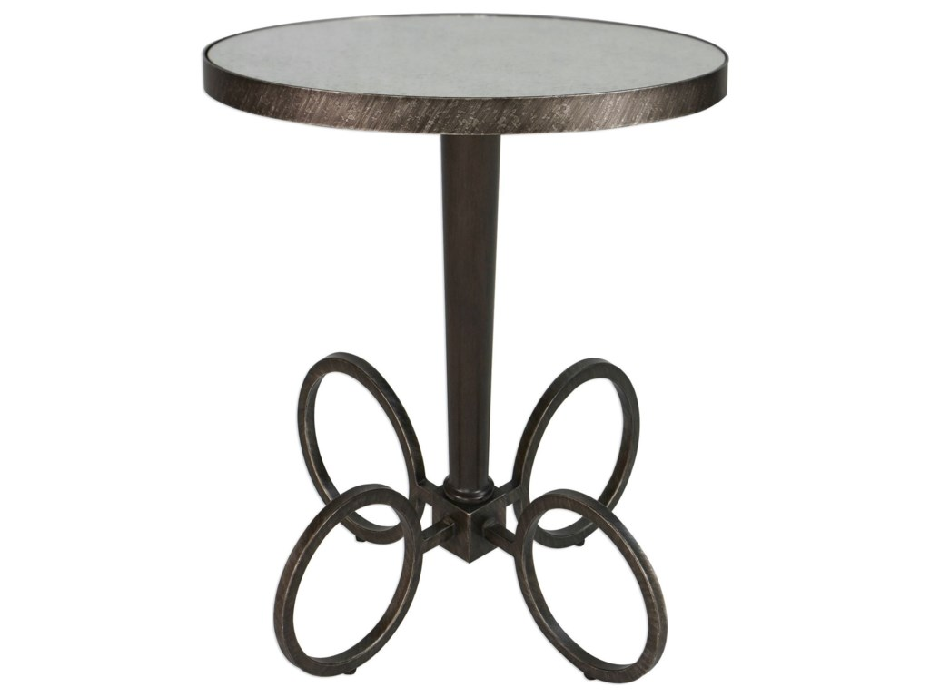 Uttermost Accent FurnitureJalen Industrial Accent Table