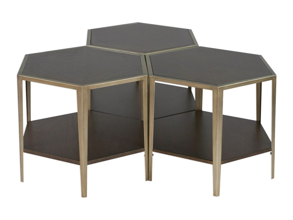 Uttermost Accent Furniture - Occasional TablesAlicia Geometric Accent Table