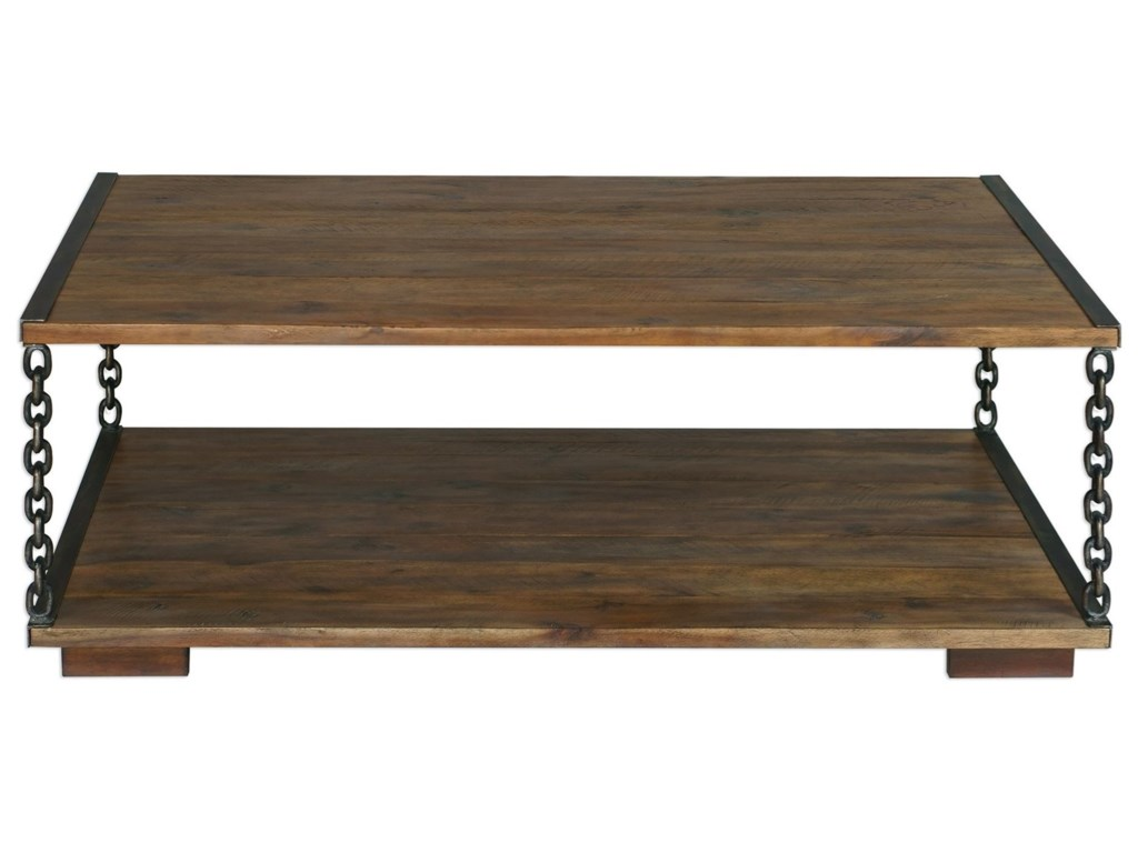 Uttermost Accent Furniture - Occasional TablesJair Chain Link Coffee Table
