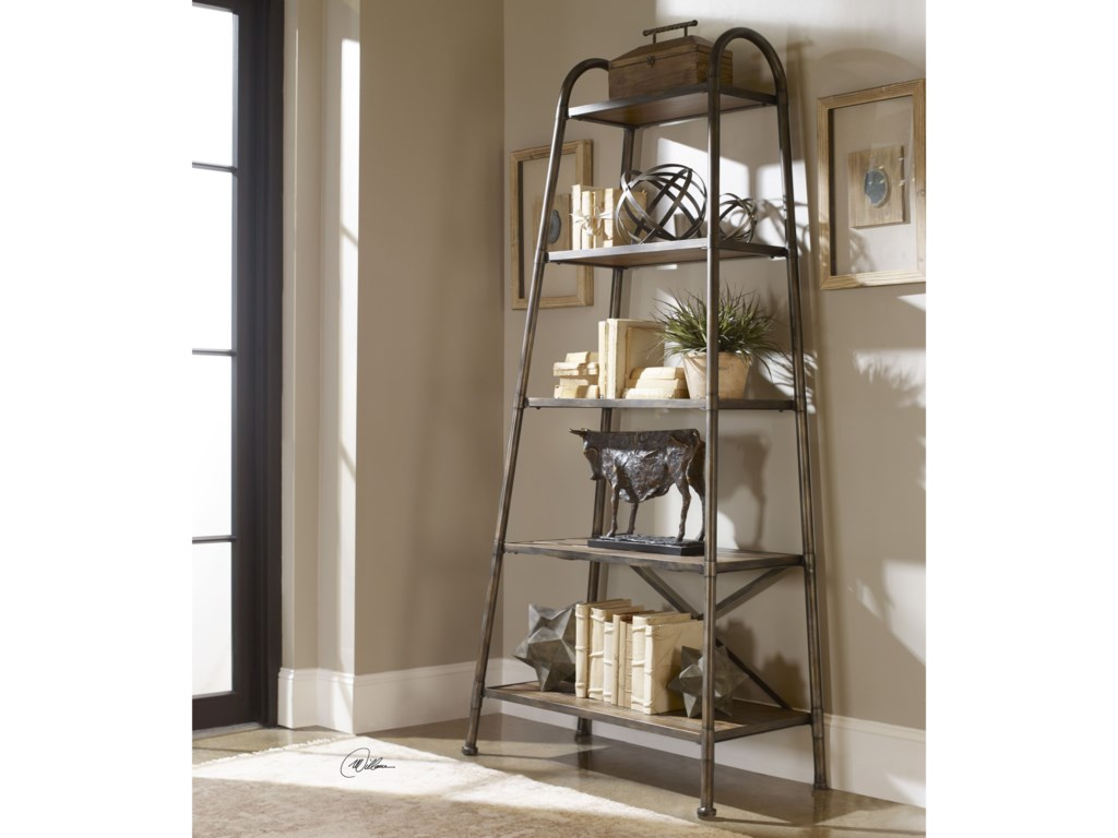 Uttermost Accent Furniture - BookcasesZosar Urban Industrial Etagere