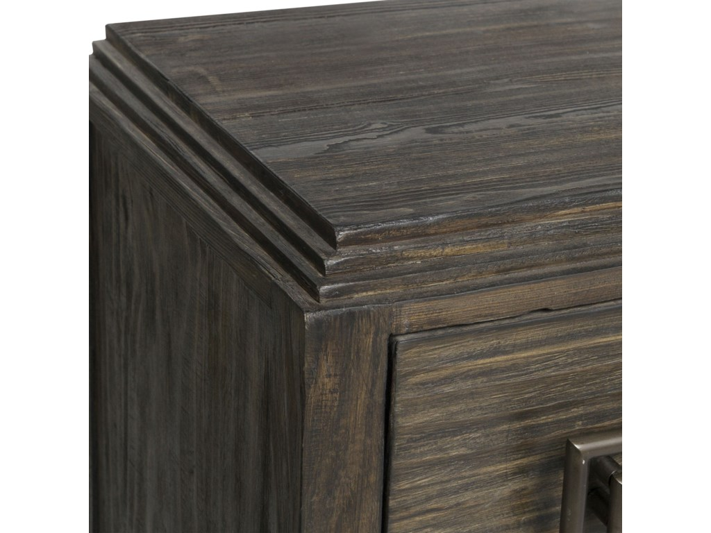 Uttermost Accent Furniture - ChestsBaseer Charred Walnut Accent Chest