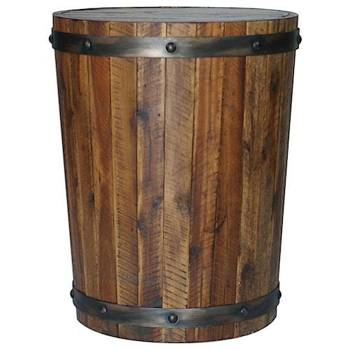 Uttermost Accent Furniture Ceylon Wine Barrel Accent Table