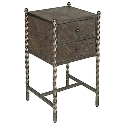 Uttermost Accent Furniture Hagar Oak Accent Table