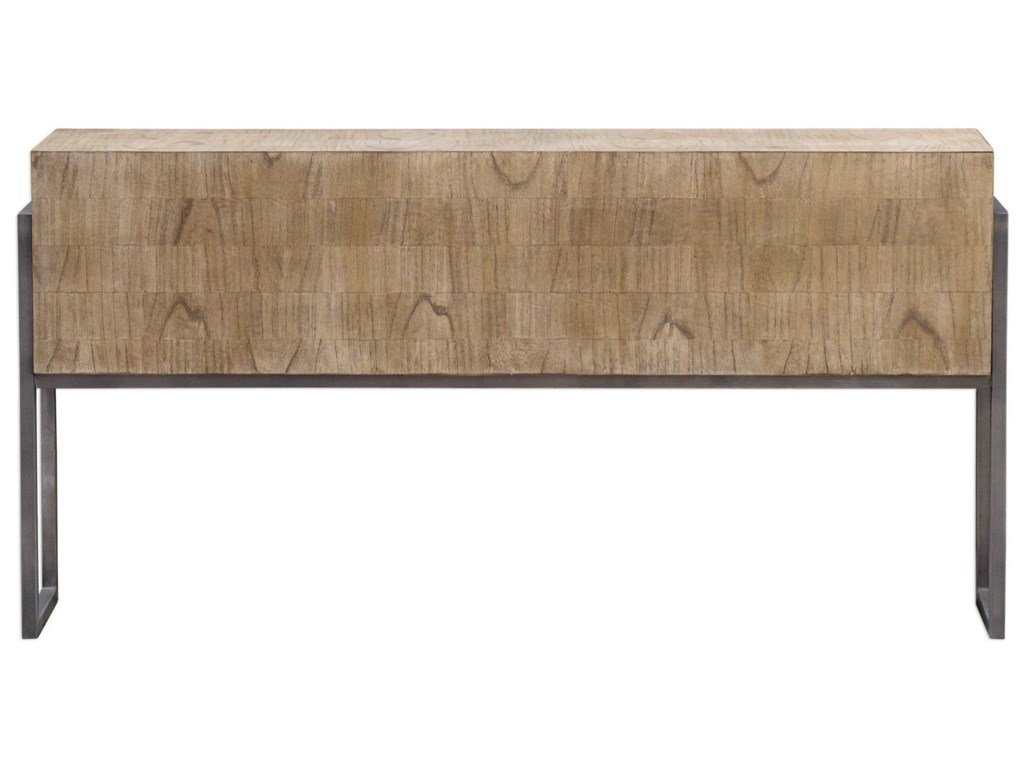 Uttermost Accent Furniture - Occasional TablesNevis Contemporary Sofa Table