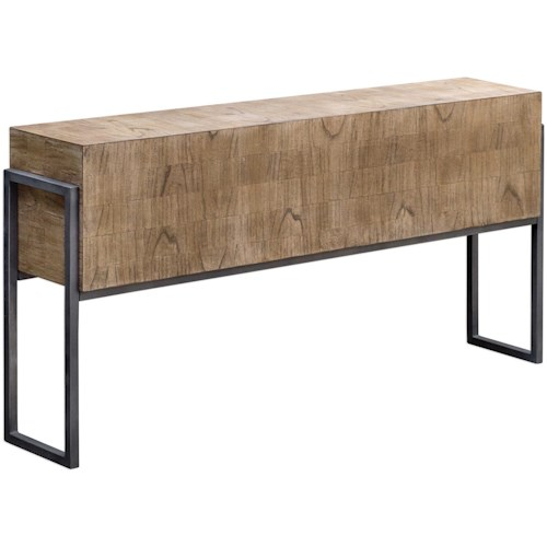 Uttermost Accent Furniture Nevis Contemporary Sofa Table