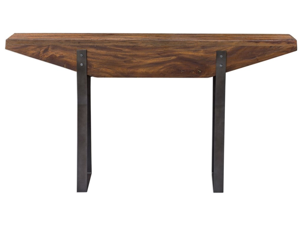 Uttermost Accent FurnitureEmryn Industrial Sofa Table