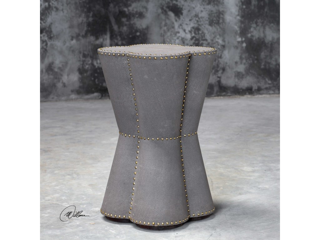 Uttermost Accent Furniture - Occasional TablesMaisy Quatrefoil Accent Table