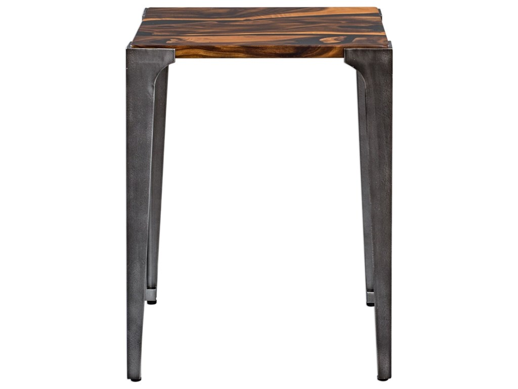 Uttermost Accent Furniture - Occasional TablesMira Acacia Side Table