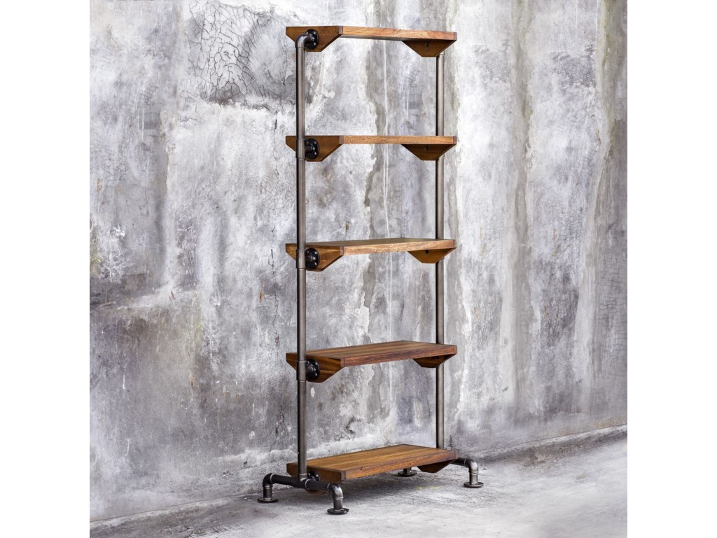 Uttermost Accent Furniture - BookcasesRhordyn Industrial Etagere
