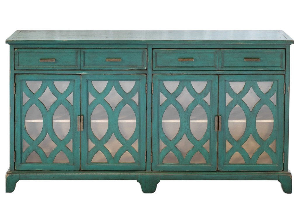 Uttermost Accent FurnitureOksana Wooden Credenza