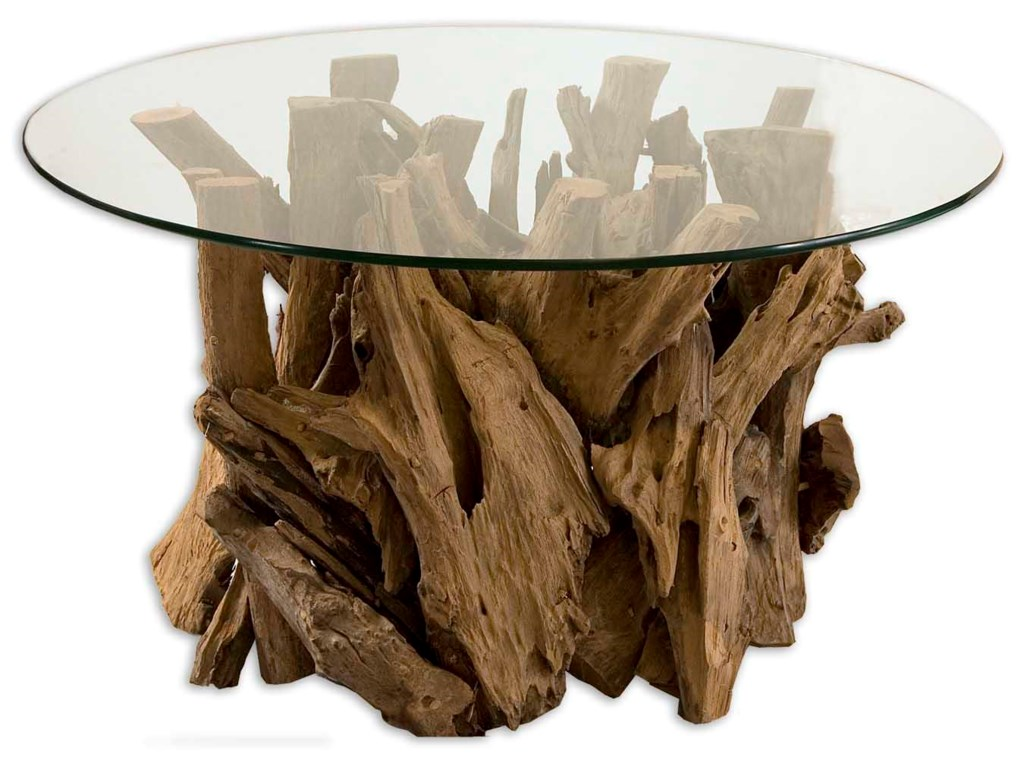 Uttermost Accent Furniture - Occasional TablesDriftwood Cocktail Table