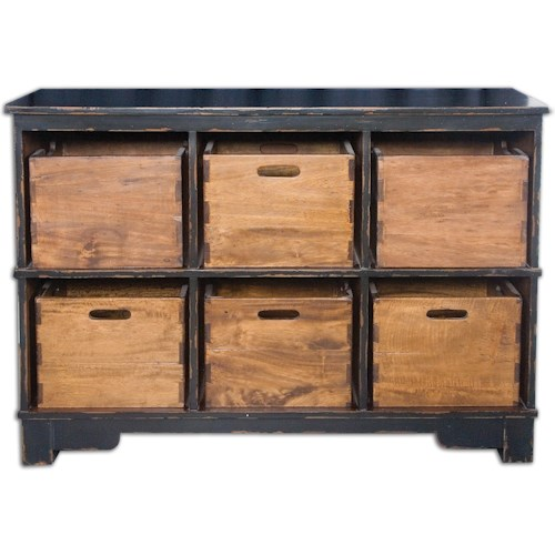 Uttermost Accent Furniture Ardusin Hobby Cupboard