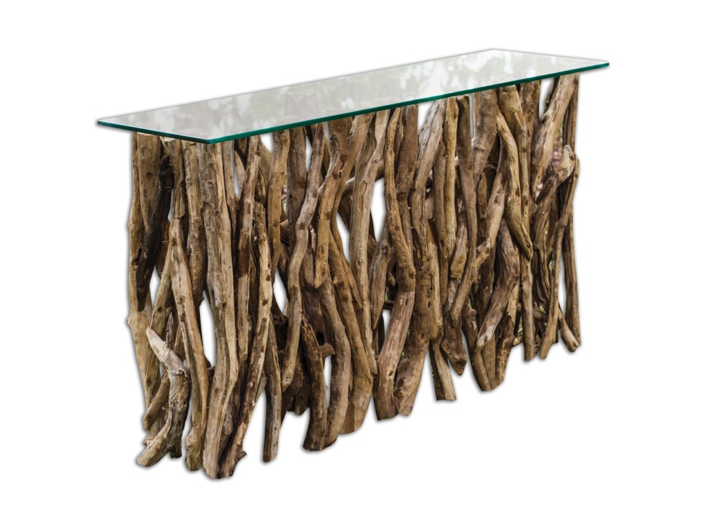 Uttermost Accent Furniture - Occasional TablesTeak Wood Console