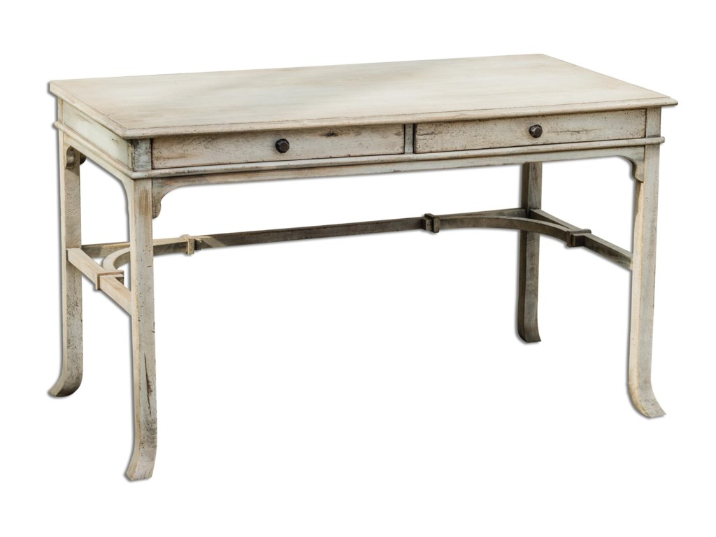 Uttermost Accent FurnitureBridgely Aged Writing Desk