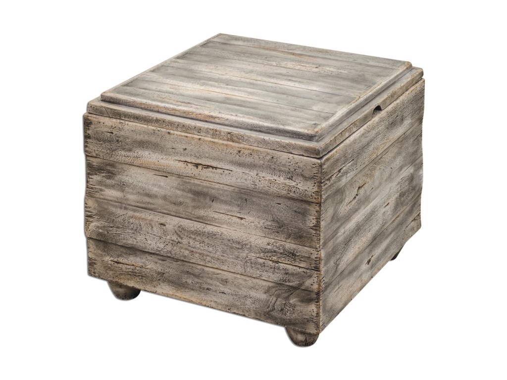 Uttermost Accent FurnitureAvner Wooden Cube Table