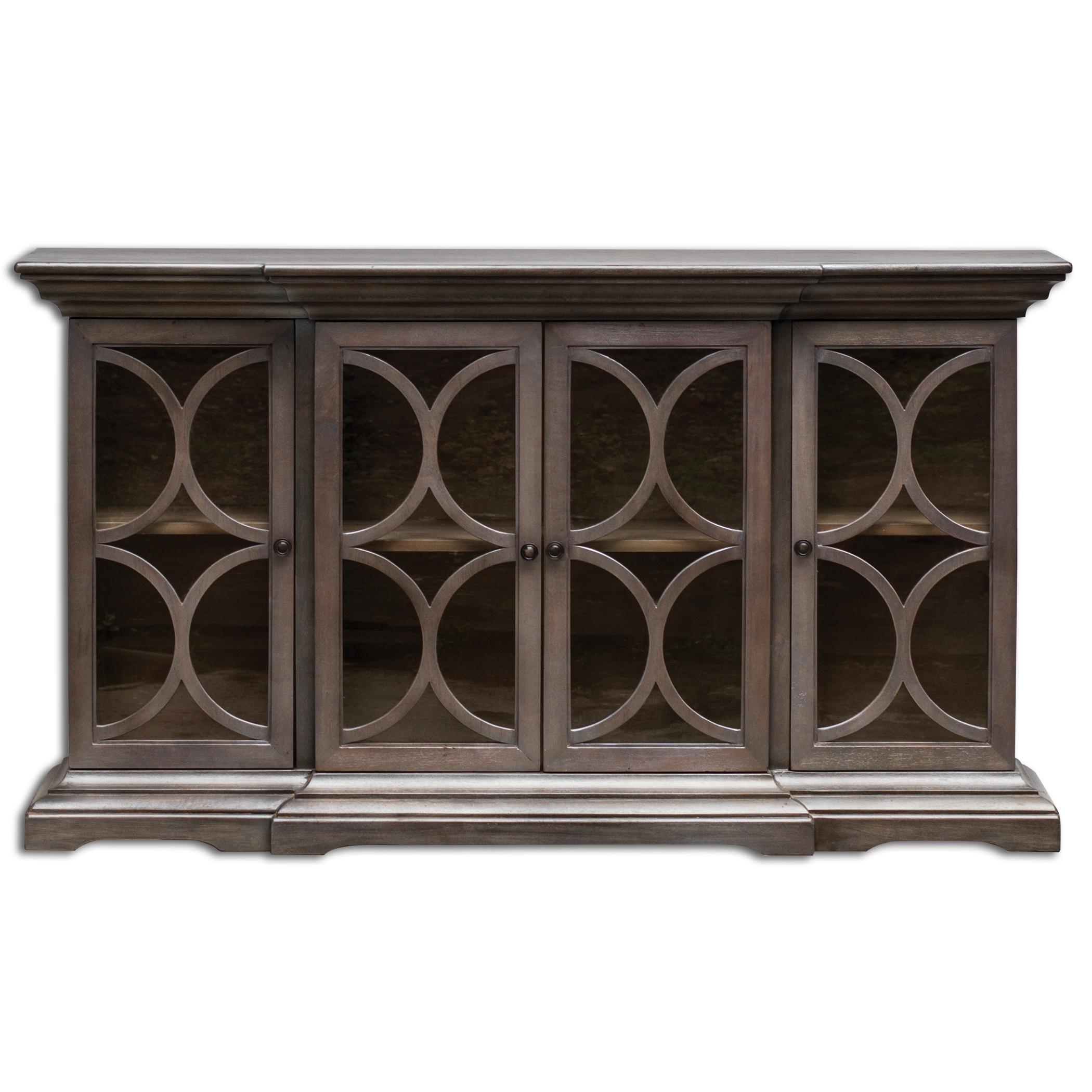Uttermost Accent Furniture Belino Wooden 4 Door Chest