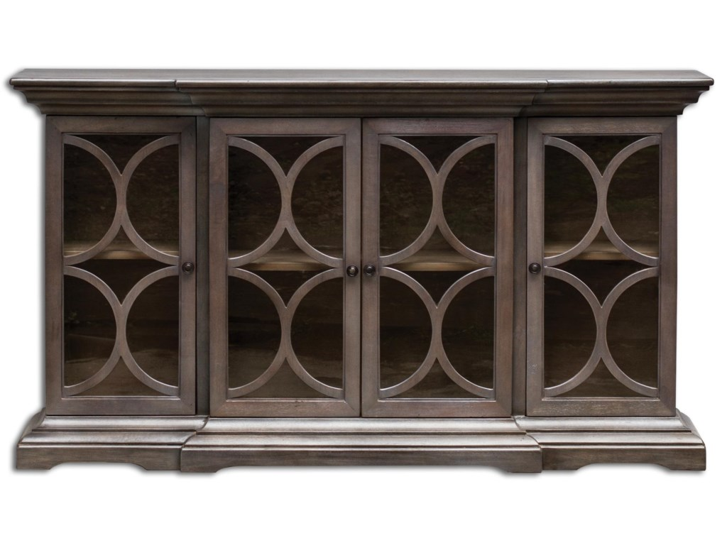Uttermost Accent FurnitureBelino Wooden 4 Door Chest