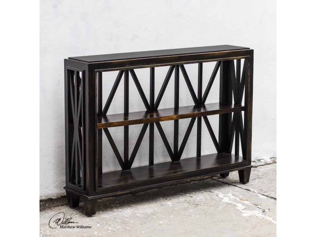 Uttermost Accent FurnitureAsadel Wood Console Table
