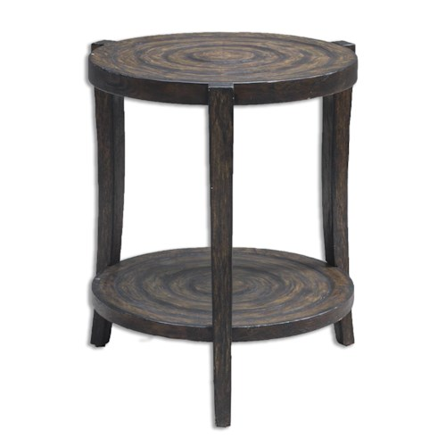 Uttermost Accent Furniture Pias Rustic Accent Table