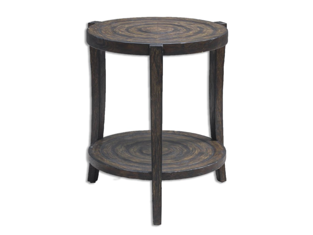 Uttermost Accent Furniture - Occasional TablesPias Rustic Accent Table