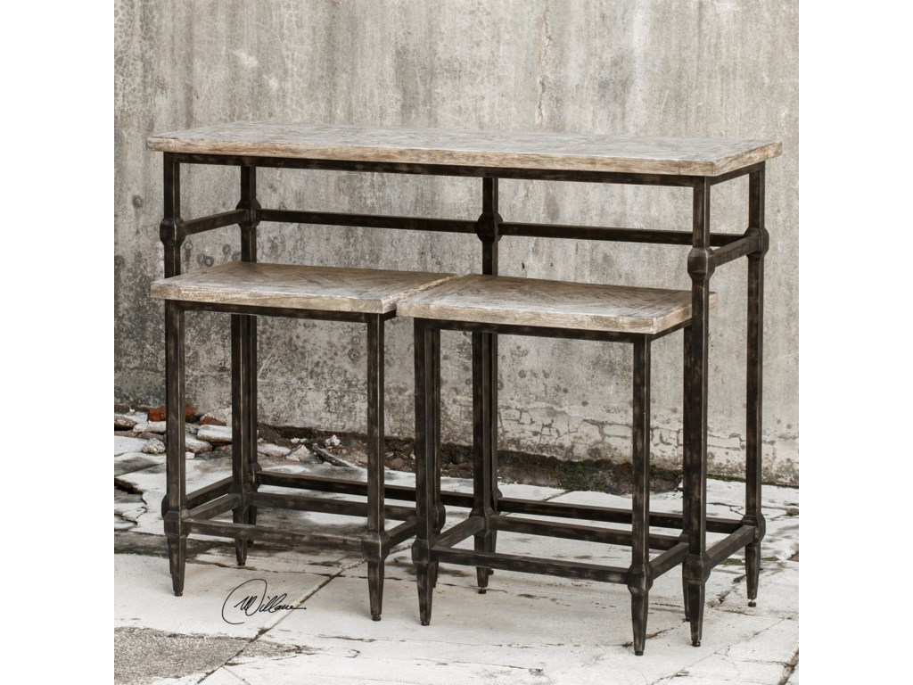 Uttermost Accent FurnitureTameron Bistro Set S/3