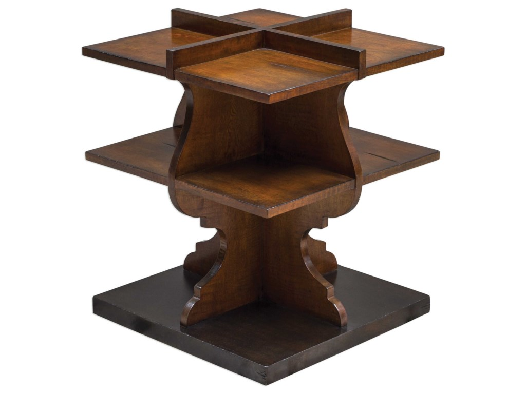 Uttermost Accent Furniture - Occasional TablesNiko Honey Accent Table