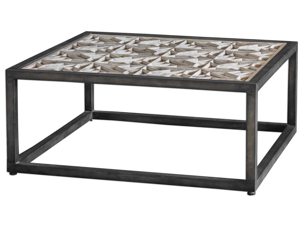 Uttermost Accent Furniture - Occasional TablesBaruti Industrial Coffee Table
