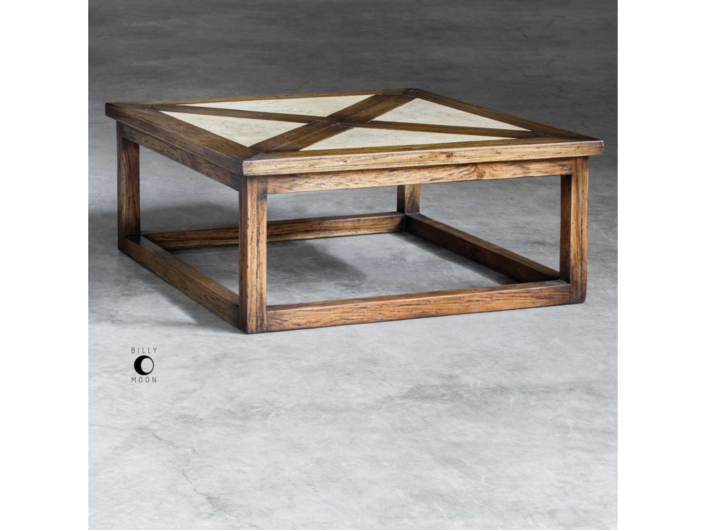 Uttermost Accent FurnitureAkono Honey Coffee Table