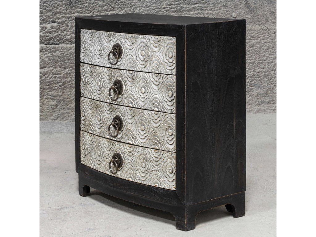 Uttermost Accent FurnitureRamila Hand Carved Accent Chest