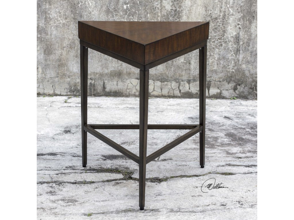 Uttermost Accent FurnitureIngo Triangle Accent Table