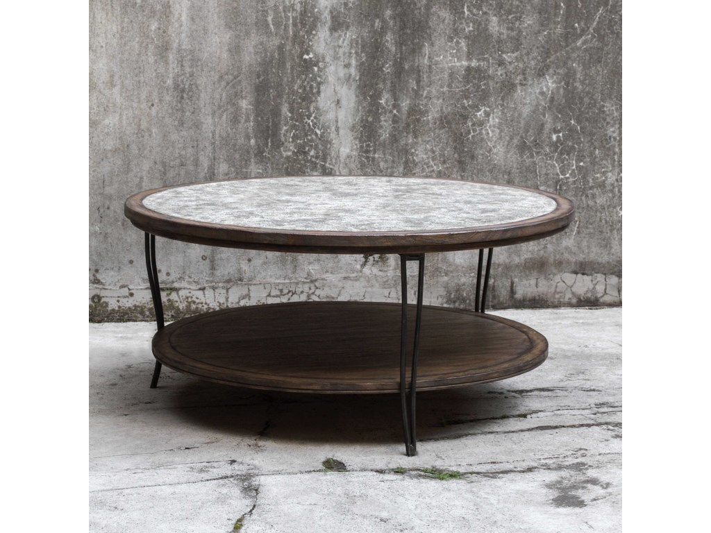 Uttermost Accent FurnitureSaskia Rustic Coffee Table