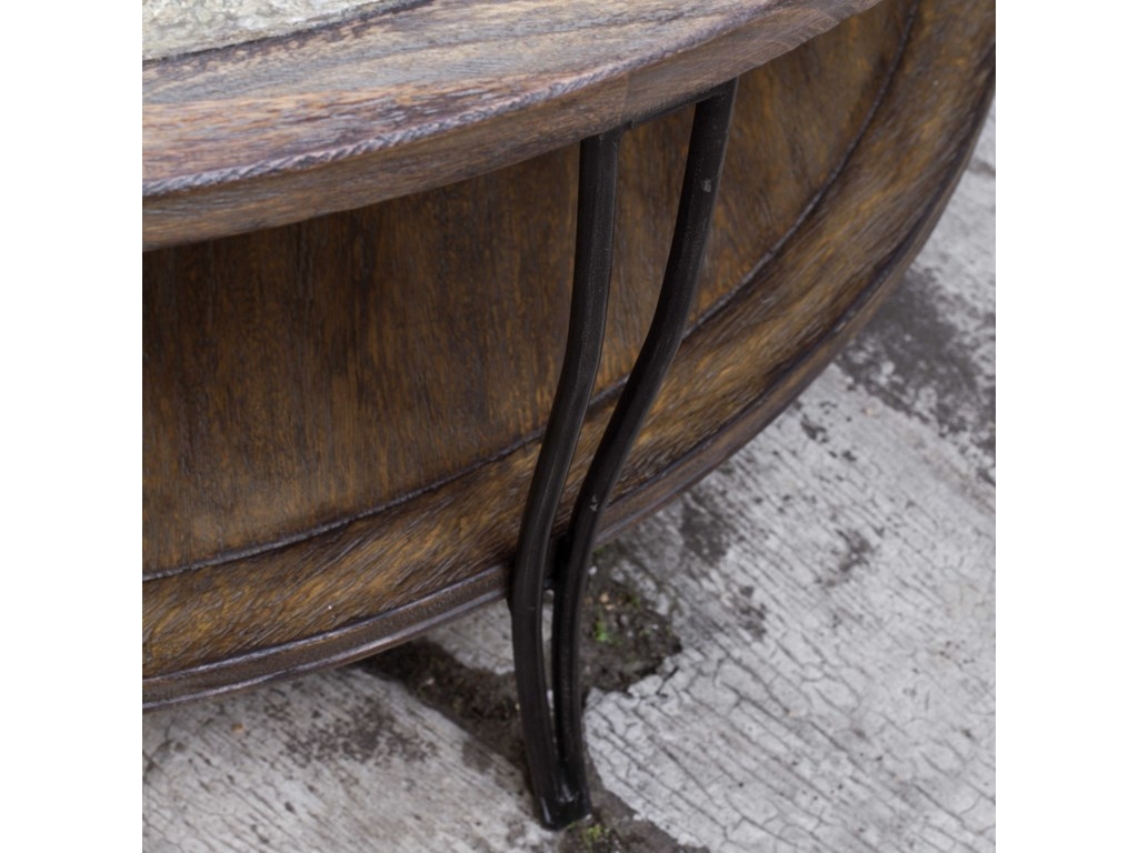 Uttermost Accent Furniture - Occasional TablesSaskia Rustic Coffee Table
