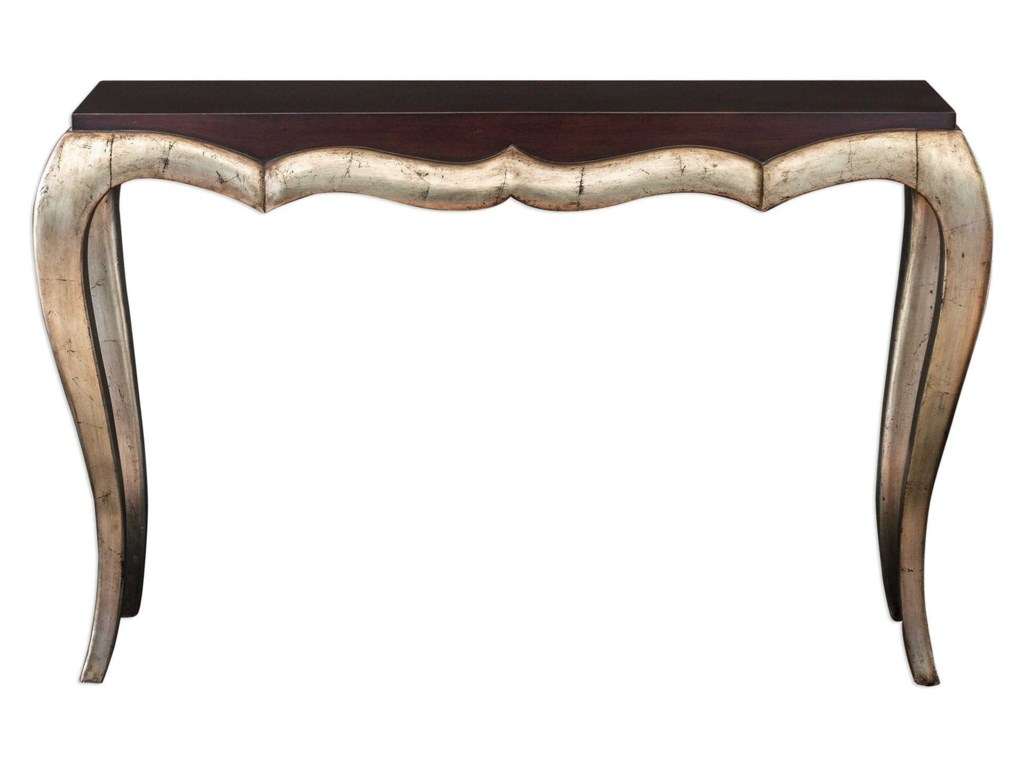 Uttermost Accent FurnitureVerena Champagne Console Table