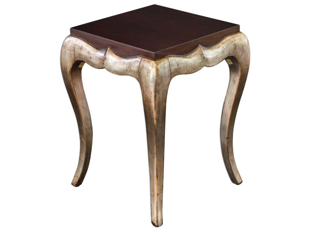 Uttermost Accent FurnitureVerena Champagne End Table