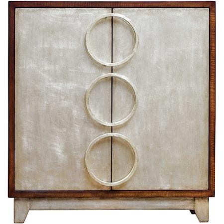 Jacinta Silver Cabinet
