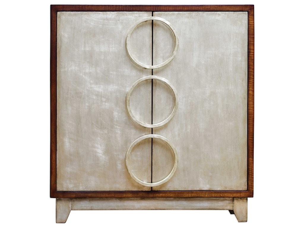 Uttermost Accent FurnitureJacinta Silver Cabinet
