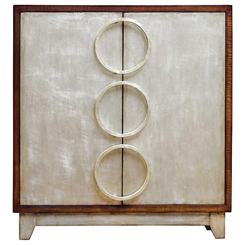 Uttermost Accent Furniture Jacinta Silver Cabinet