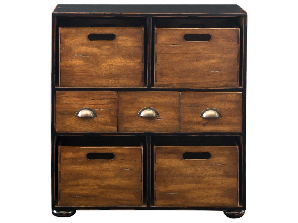 Uttermost Accent FurnitureArdusin Mahogany Hobby Chest