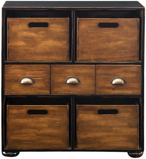 Uttermost Accent Furniture Ardusin Mahogany Hobby Chest