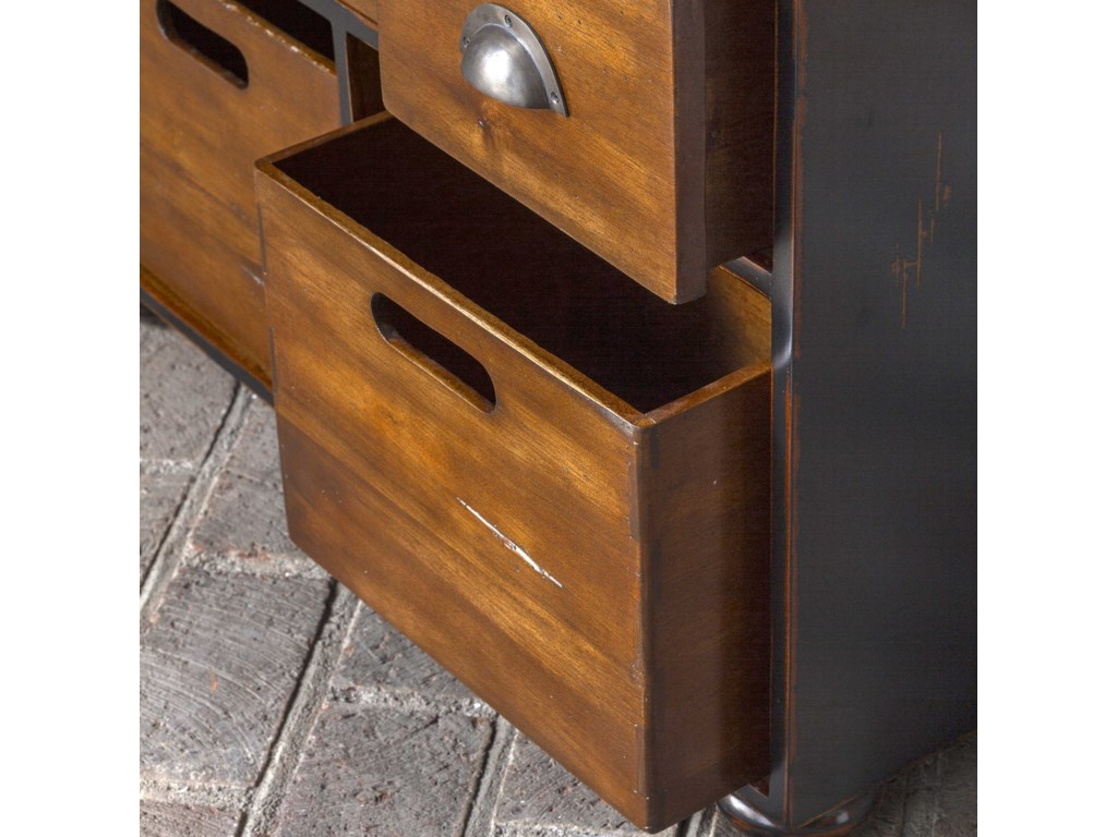 Uttermost Accent Furniture - ChestsArdusin Mahogany Hobby Chest