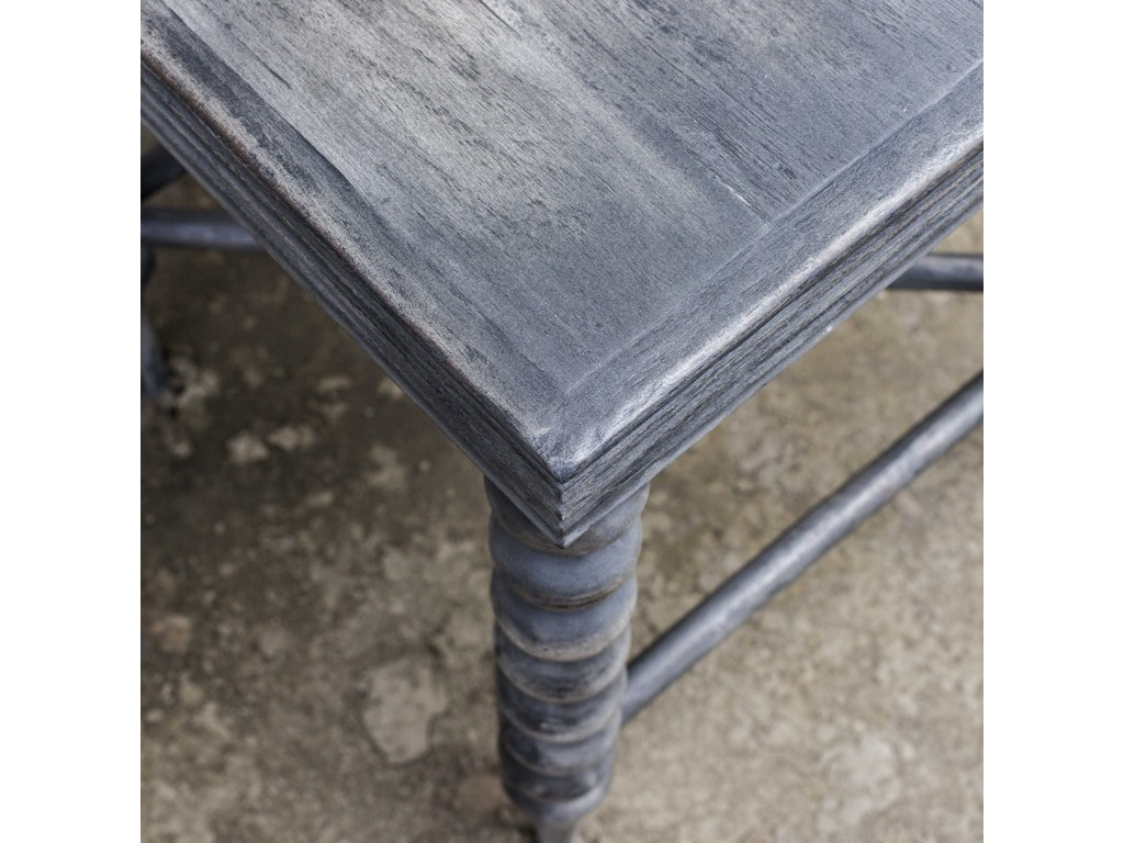 Uttermost Accent Furniture - Occasional TablesKunja Gray End Table