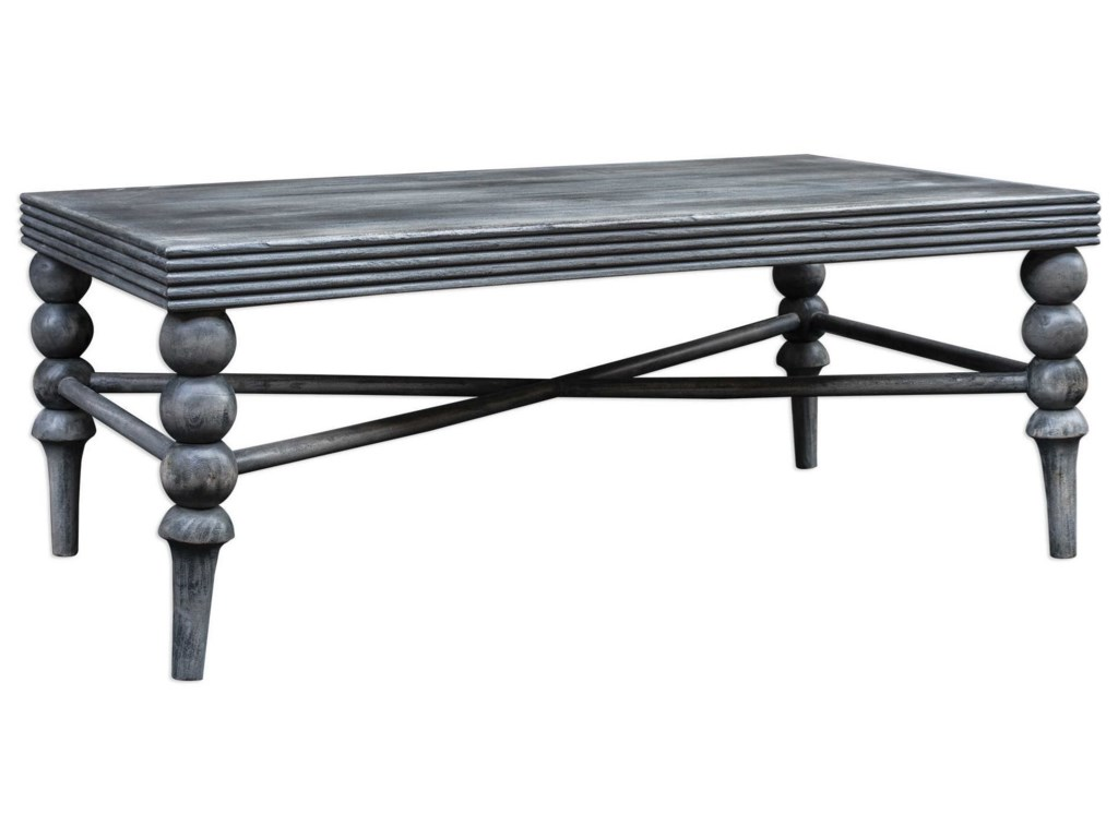 Uttermost Accent FurnitureKunja Gray Coffee Table