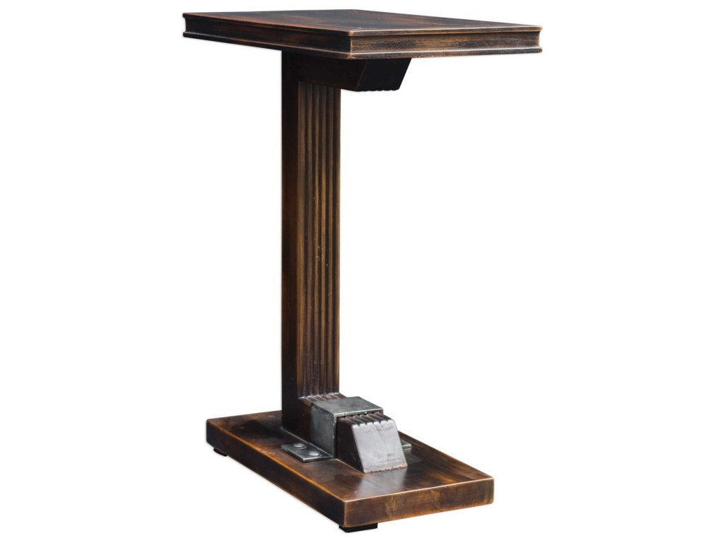 Uttermost Accent Furniture - Occasional TablesDeacon Industrial Accent Table