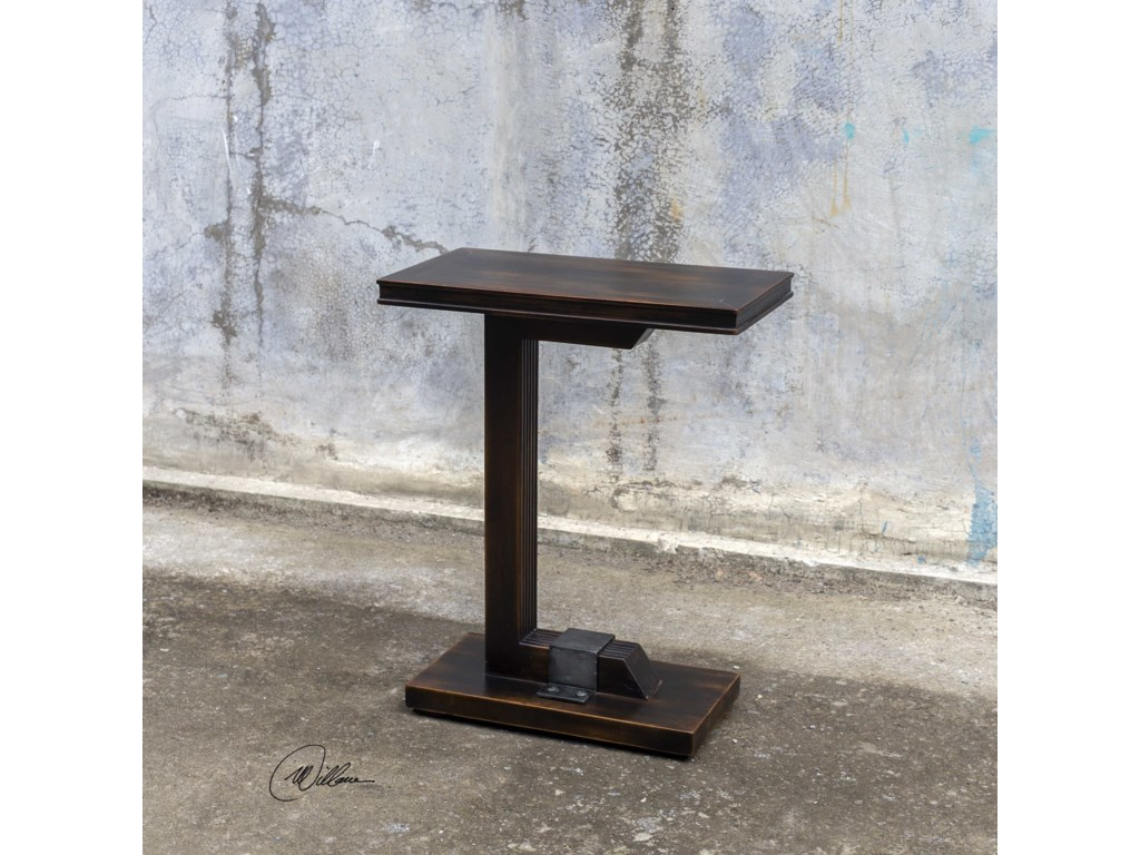 Uttermost Accent FurnitureDeacon Industrial Accent Table