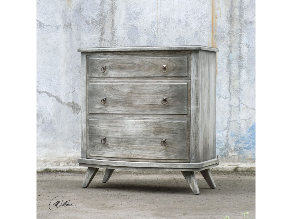 Uttermost Accent FurnitureJacoby Driftwood Accent Chest