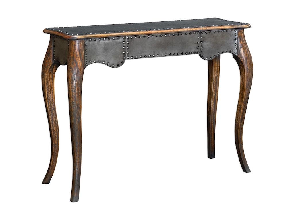 Uttermost Accent FurnitureRoarke Industrial Console Table